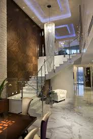 a contemporary design of a penthouse that is not too modern or cold