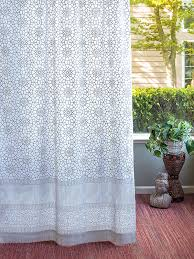 Trellis Curtain Panel Gray White Curtains Geometric Curtains Moroccan Trellis Sheer