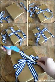 tying gift bows tying bows on presents present wrapping tips 3 easy gift wrap