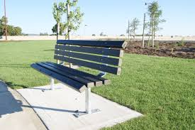 composite benches public seats exteria street park outfitters