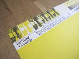 Pantone Yellow by Vintage Pantone Poster Yellow U Vintage Pantone Posters