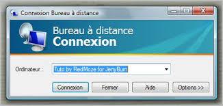 controle de bureau a distance controler un pc a distance sous vista