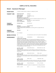 resume objective for flight attendant resume objective retail free resume example and writing download 10 retail resume sample