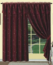 Sheer Maroon Curtains 22 Best Embroidered Curtains Images On Pinterest Curtain Panels
