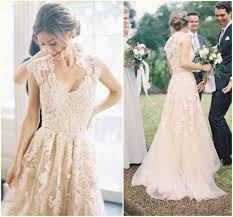 garden wedding dresses discount fashion blush colored dresses applique pink wedding dress