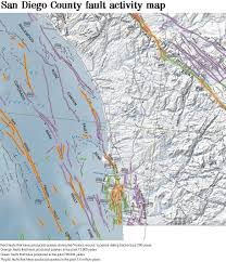 Map Of San Diego County by California Geological Survey Updates Its Fault Map The San Diego
