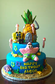 spongebob squarepants cake spongebob squarepants and icing smiles