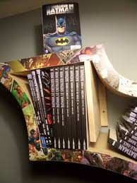Batman Bookcase How To Make A Bat Bookshelf 9 Steps With Pictures