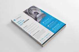 corporate bi fold brochure template free brochure design download