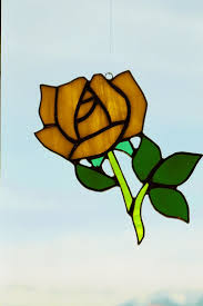 93 best stained glass roses images on pinterest stained glass