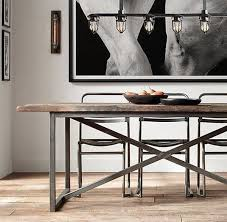 industrial dining room table dining tables simple industrial room table intended for remodel 18