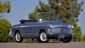 autobianchi 1965 autobianchi bianchina cabriolet t85 monterey 2017
