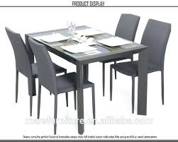 Modern Display Pedestal Dining Table Round Extendable Dining Table Set Pedestal Room