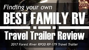 finding the best family rv 2017 forest river rpod rp 179 travel