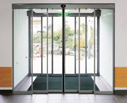 sliding glass doors hard to open at long last engineers create automatic sliding doors with star