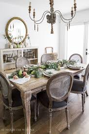 dining room table runner eucalyptus pears and roses table runner centrepiece so much