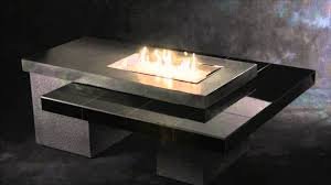 Rectangle Fire Pit Table Great Rectangular Natural Gas Fire Pit Table In A Modern Style Of