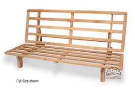 size futon futon frame solid wood new bi fold futon sofa bed frame