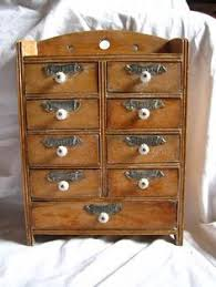 Vintage Wooden Spice Rack Vintage Wooden Spice Rack Or Storage Cabinet Wall Mount Display