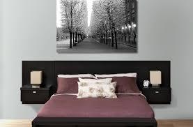 Modern Bed With Headboard Storage Affordable Modern Furniture Platform Beds Under 2 000 Platform