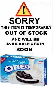 where to buy white fudge oreos cookies and biscotti 20473 nabisco oreo white fudge covered