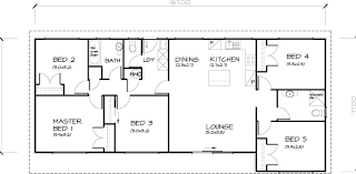 five bedroom house plans 5 bedroom transportable homes floor plans