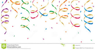 party confetti party streamers and confetti stock images image 14461614
