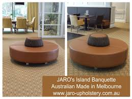 circle banquette settee lobby sofa jaro s island circular foyer banquette seat jaro upholstery