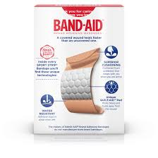 band aid brand sport strip extra wide adhesive bandages minor