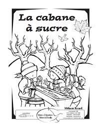 image result for cabane a sucre coloriage maple syrup