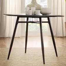jameson 42 u0026quot round dining table dark brown walmart com