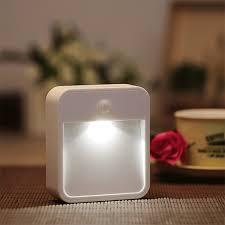 battery powered motion night light al101n battery powered wireless pir motion sensor led night light