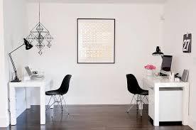 White Art Desk White Lacquered Desks Design Ideas