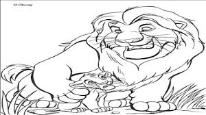 film lion king 2 colouring pages free lion coloring pages free