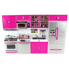 18 inch doll kitchen furniture amazon com our generation gourmet kitchen toys