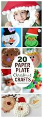 20 easy u0026 fun paper plate christmas crafts arts and crafts