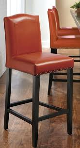 bar stools red leather bar stools for sale home decorators