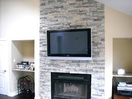 faux stone electric fireplace canada another renovation elements