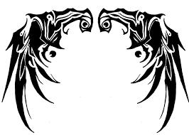 tribal back wings by joey z on deviantart