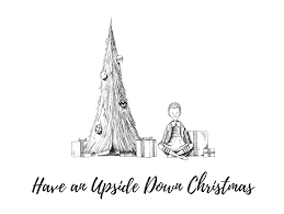 upside down christmas trees mcillustrator