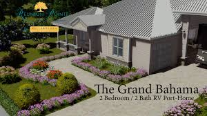 the grand bahama 2 bedroom 2 bath rv port home at reunion pointe