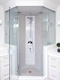neo angle corner shower kit houzz