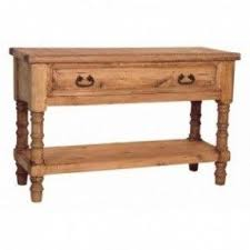 Rustic Pine Nightstand Rustic Pine Sofa Table Foter