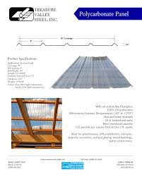 Fiberglass Patio Cover Panels by Our Steel Panels Treasure Valley Steel Inc