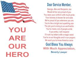 patriotexpressus personable a million thanks send a letter with