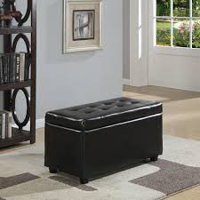wyndenhall essex medium rectangular storage ottoman bench