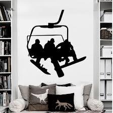 online get cheap snowboard wall decal aliexpress com alibaba group wall decals snowboard sport winter snow vinyl sticker decal bedroom china