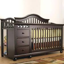 Convertible Crib Changing Table Best Baby Cribs With Changing Table Attached Ideas Liltigertoo