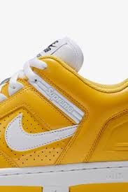 yellow color combination nike sb af2 low supreme u0027varsity maize u0027 nike u2060 snkrs