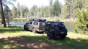 offroad teardrop camper tiny off road teardrop proves itself the alpha of the pack youtube